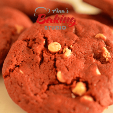 Eggless Red Velvet Cookie